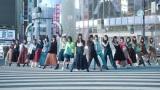 渋谷スクランブル交差点オープンセットで撮影したダンスシーンも