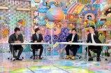1月14日放送、『アメトーーク!』は20代の人気芸人たちによる「未来への提案」(左から)川島明(麒麟)、蛍原徹、霜降り明星(せいや・粗品)(C)テレビ朝日