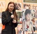 幼少期の変顔写真を公開した香里奈=映画『おもいで写眞』の完成報告会見 (C)ORICON NewS inc.
