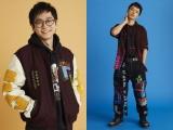 ファッションモデルに挑戦した東京ホテイソン・たける(左)とショーゴ (Photo:Kenji yamanaka)