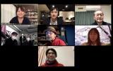「#WeNeedCulture」のオンライン会見の模様