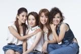 結成25周年を迎えたSPEED(左から)上原多香子、島袋寛子、今井絵理子、新垣仁絵