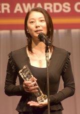 『第32回 日本ジュエリー ベストドレッサー賞』授賞式に出席した小池栄子 (C)ORICON NewS inc.