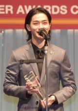 『第32回 日本ジュエリー ベストドレッサー賞』授賞式に出席した横浜流星 (C)ORICON NewS inc.