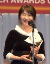 『第32回 日本ジュエリー ベストドレッサー賞』授賞式に出席した田中美佐子 (C)ORICON NewS inc.