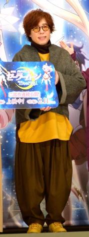 劇場版『美少女戦士セーラームーンEternal』アマゾン・トリオナイトに登壇した日野聡 (C)ORICON NewS inc.