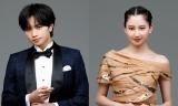 WOWOW『第93回アカデミー賞授賞式』に出演する(左から)中島健人、河北麻友子(C)WOWOW