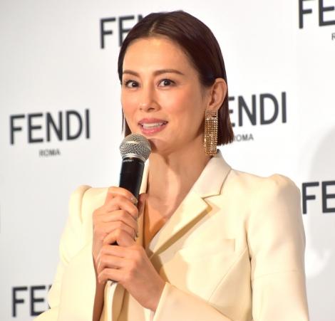 FENDIジャパンのブランドアンバサダーに就任した米倉涼子 (C)ORICON NewS inc.