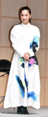 """映画『名も無き世界のエンドロール』""""絆結び""""大ヒット祈願イベントに出席した中村アン (C)ORICON NewS inc."""