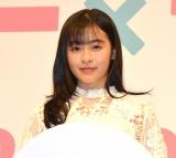映画『ライアー×ライアー』の完成報告イベントに参加した森七菜 (C)ORICON NewS inc.