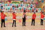 21日放送『VS魂』に出演する(左から)藤井流星、佐藤勝利、村上信五、岸優太、浮所飛貴 (C)フジテレビ
