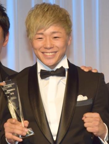 『K-1 AWARDS(アウォーズ)2018』の表彰式に出席した武尊選手 (C)ORICON NewS inc.