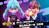 きゃりーぱみゅぱみゅがNintendo Switch用対戦アクションゲーム『ニンジャラ』とコラボ