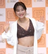 『LUNAナチュラルアップナイトブラ』新カラー発表会に登場した鈴木奈々 (C)ORICON NewS inc.