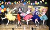 (左から)弦巻こころ、美竹蘭、戸山香澄、湊友希那、丸山彩=『バンドリ!ミュージアム』より (C)ORICON NewS inc.