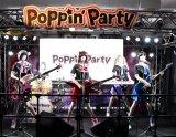 Poppin'Party=『バンドリ!ミュージアム』より (C)ORICON NewS inc.