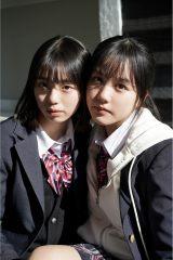 『ヤンマガWeb』に登場した(左から)菊池姫奈、後藤真桜(C)藤本和典/ヤンマガWeb