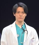 舞台『ドクター・ブルー』の開幕直前取材会に参加した室龍太 (C)ORICON NewS inc.