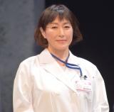 舞台『ドクター・ブルー』の開幕直前取材会に参加した高島礼子 (C)ORICON NewS inc.