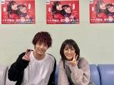 日本テレビ系連続ドラマ『ウチの娘は、彼氏が出来ない!!』に出演中の(左から)赤楚衛二と浜辺美波 (C)日本テレビ