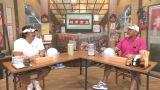 ABCテレビ『相席食堂』に出演した長州力、武藤敬司(C)ABC