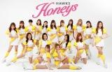 ホークスオフィシャルダンス&パフォーマンスチーム『ハニーズ』の2021年度メンバー
