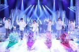 2月6日放送『SHIONOGI MUSIC FAIR』に出演するSixTONES(C)フジテレビ