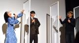 監督とのじゃんけんに負け、くやしがる深川麻衣=映画『おもいで写眞』初日舞台あいさつ (C)ORICON NewS inc.