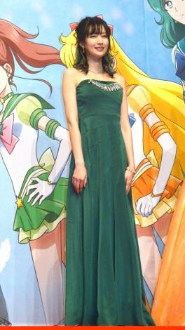 劇場版『美少女戦士セーラームーンEternal』完成報告会見に登壇した小清水亜美 (C)ORICON NewS inc.