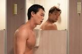 『君と世界が終わる日に』より竹内涼真らが肉体美を披露 (C)日本テレビ