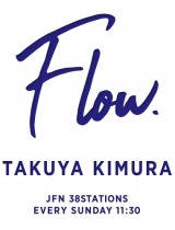 TOKYO FM『木村拓哉 Flow supported by GYAO!』ロゴ