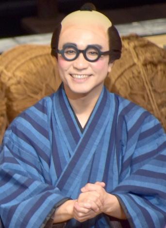 舞台『喜劇 お染与太郎珍道中』初日前会見に出席した八嶋智人 (C)ORICON NewS inc.