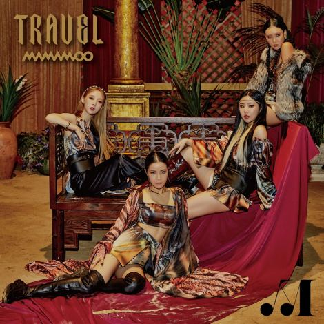 MAMAMOOニューアルバム『TRAVEL -Japan Edition-』初回限定盤A