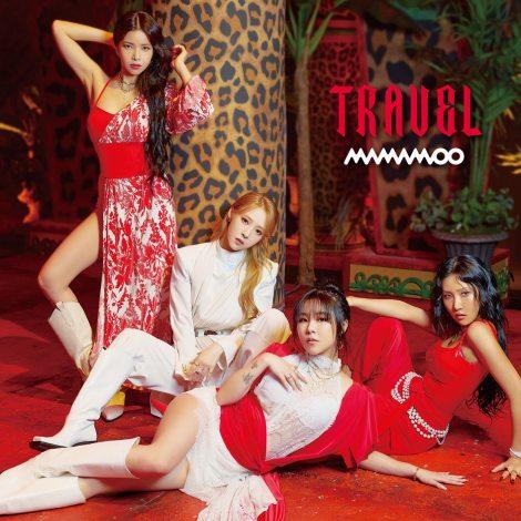 MAMAMOOニューアルバム『TRAVEL -Japan Edition-』通常盤