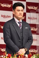 入団会見を行った田中将大投手 (C)ORICON NewS inc.