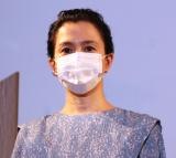 映画『痛くない死に方』完成披露舞台挨拶に出席した坂井真紀 (C)ORICON NewS inc.