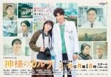 ドラマスペシャル『神様のカルテ』(2月15日午後8時スタート、2時間×4話)ポスタービジュアル(C)テレビ東京