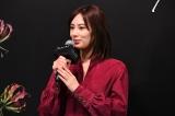 映画『ファーストラヴ』公開直前イベントに出席した北川景子