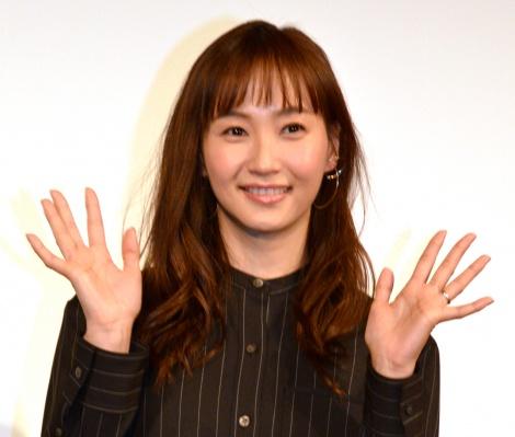 映画『あの頃。』公開直前イベントに出席した藤本美貴 (C)ORICON NewS inc.