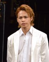 ミュージカル『Endless SHOCK -Eternal-』ゲネプロ前囲みに登壇した上田竜也 (C)ORICON NewS inc.