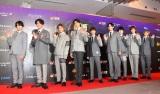 『WEIBO Account Festival in Tokyo 2020』レッドカーペットに登場したSnow Man (C)ORICON NewS inc.