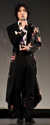 『WEIBO Account Festival in Tokyo 2020』に登場した山本一慶 (C)ORICON NewS inc.