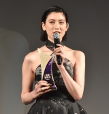 『WEIBO Account Festival in Tokyo 2020』に登場した三吉彩花 (C)ORICON NewS inc.