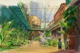 ジブリパーク「ジブリの大倉庫」エリア(C)Studio Ghibli