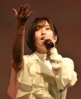『WEIBO Account Festival in Tokyo 2020』でライブパフォーマンスを披露した山本彩 (C)ORICON NewS inc.