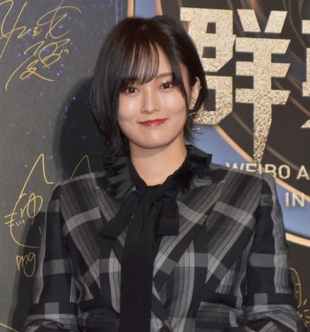 『WEIBO Account Festival in Tokyo 2020』レッドカーペットに登場した山本彩(C)ORICON NewS inc.