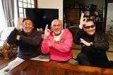 (左から)長州力、武藤敬司、蝶野正洋 (C)TBS