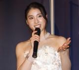 映画『哀愁しんでれら』初日舞台挨拶に登壇した土屋太鳳 (C)ORICON NewS inc.