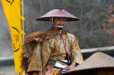 大河ドラマ『麒麟がくる』本能寺にやってきた織田信長(染谷将太)=2月7日放送、第44回「本能寺の変」(最終回)より (C)NHK