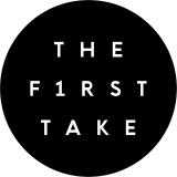 登録者353万人、総再生回数7億9400万回、世界220ヶ国で視聴されている人気YouTubeチャンネル「THE FIRST TAKE」ロゴ